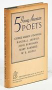 John Berryman Mary Barnard / Five Young American Poets Signed 1st Edition 1940