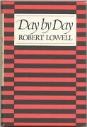 Robert Lowell / Day By Day Signed 1st Edition 1978