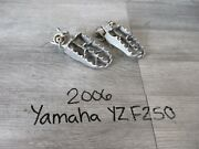 06 2006 Yamaha Yz250f Yz 250f 250 Motorcycle Body Pedals Footpegs Foot Pegs
