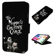 Christmas Carol - Flip Phone Case Wallet Cover Fits Iphone And Samsung