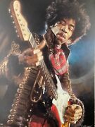 Jimi Hendrix Limited Edition Giclee On Canvas Print By Sebastian Kruger