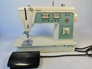 Singer Sewing Machine With Foot Pedal Model 714