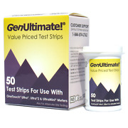Genultimate 50 Test Strips For Onetouch Ultra Meters