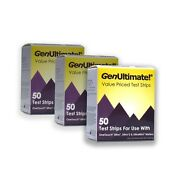 Genultimate 50 Test Strips For Onetouch Ultra Meters - 3 Pack