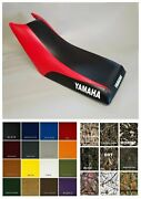 Yamaha Champ 100 Seat Cover 1987-1991 Black And Red Or 25 Color Side Logo/st/6pc