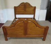 Ethan Allen Legacy Queen Size Bed French Country Maple 13-5650 Fin 213