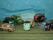 Disney Pixar Cars And Planes Franz, Jud, Vandon And More Displayed Only