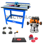 Kreg Prs1045 Pro Router Table Lift Package With Triton 3-1/4 Hp Router