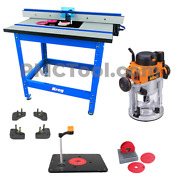 Kreg Prs1045 Pro Router Table Lift Package With Triton 2-1/4 Hp Router