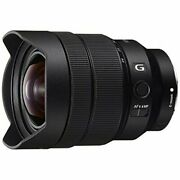 Used Sony Zoom Lens Fe 12-24 Mm F4 G E Mount 35 Mm Full Size Compatible Sel1224g