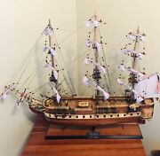 Astonishing Handcrafted Ship Model With Authenticity Certificate.