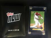 Anthony Rendon 2020 Topps Now 28 Gold 1/1  1st Angel Hr One Of Kind