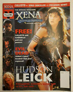 The Official Magazine Xena Warrior Princess 14 January 2001 W/posters