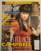 The Official Magazine Xena Warrior Princess 16 March 2001 W/posters