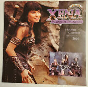 Xena Warrior Princess 16 Month Calendar For The Year 2000