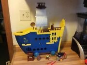 Disney Jake And The Neverland Pirates Mighty Colossus Ship 2014