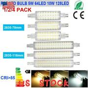 2835 Smd 78mm 118mm Led Floodlight Corn R7s Bulb 12w 16w Replace Halogen Lamps