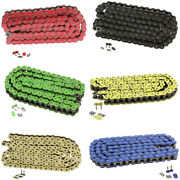 520 Motorcycle Atv O-ring Drive Chain 520-pitch With 1 Connecting Link