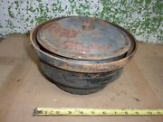 Vintage Oil Bath Air Cleaner Breather 10 Chevy Ford Dodge Oem 1