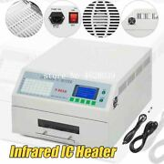 Infrared Ic Heater Solder Led Free Reflow Oven Windowed Drawer 300x320mm T962a