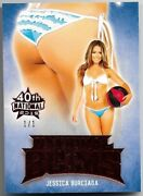2019 Benchwarmer 40th National Jessica Burciaga Red Bums Butt Card One Of /1 1/1