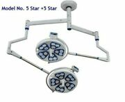 Ceiling Led Ot Light Operation Theater Lights Surgical Lamp Model- No. 5 Star +5