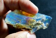 See Video 183 Cts Natural Crystal Welo Fire Ethiopian Opal Rough61x41x22mmz167