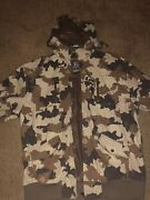 Vintage Lrg Lifted Research Group Leaf Camo Hooded Jacket Canvas Outter