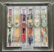 Swatch Artists Collection 1997 Collection Collector Free Shipping Vintage F/s