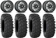 Fuel Tech Beadlock Gm 15 Wheels 30 Xtr370 Tires Kawasaki Teryx Mule