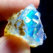 See Video 52 Cts Natural Crystal Welo Fire Ethiopian Opal Rough32x27x21mmw11