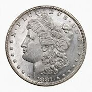 Raw 1881-o Morgan 1 Uncertified Ungraded New Orleans Silver Dollar Coin