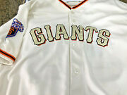 Brian Wilson Signed 2011 San Francisco Giants Game Jersey World Series Patch