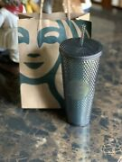 Starbucks 2020 Fall Black Iridescent Studded Tumbler Sold Out Free Ship 24 Oz🔥