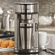 Hamilton Beach The Scoop Single Serve Coffee Maker Stainless Steel Model 49981a