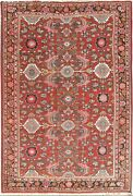 Vintage Hand Woven Oriental Rug 7and0396 X 10and0399 E23980