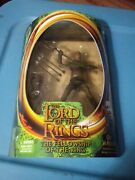 Lord Of The Rings Fellowship Of The Ring 7 Orc Warrior W/ Axe Hacking And Arrows