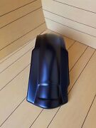 Harley Davidson Stretched Rear Fender For 2-1 Exhaust Touring Bikes 89-2013