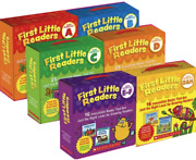 Scholastic First Little Readers Level A-h 6 Box Sets New