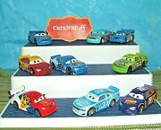 Disney Pixar Cars Racers Bruce Miller, Jimmy, Speedy And More Displayed Only