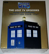 Doctor Who The Lost Tv Episodes Collection Four 1967 Bbc Sealed Original 12x Cd