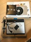 Wacom Intuos Comic Art Pen And Touch Tablet Cth-480/s3 From Japan F/s Used