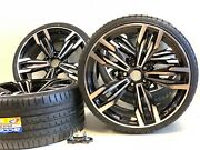 20 Inch Rims Tires Wheels Fit Bmw M Series 3 4 5 Package Black Sport Stgd 5x120