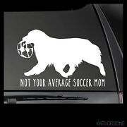 Australian Shephd Not Your Average Soccer Mom Decal , Dog Car Decal, Aussie