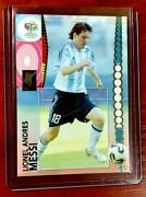 Panini Football Trading Card Rookie Lionel Messi 47 World Cup Germany 2006 Rare