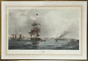 George Chambers The Port Of Liverpool Hand-colored Etching