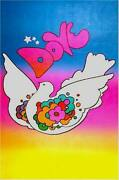 Peter Max Colombe Poster