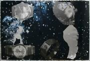 Joe Tilson Five Objects In Space Watches Screenprint On Plastic Foil Signed