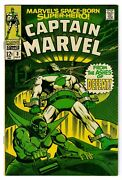 Captain Marvel 1968 3 Super-skrull Cover And Story Roy Thomas And Gene Colan Vf-
