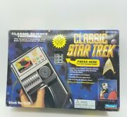 Star Trek Classic Science Tricorder Actual Lights And Sounds Tv Show 1995 Sealed